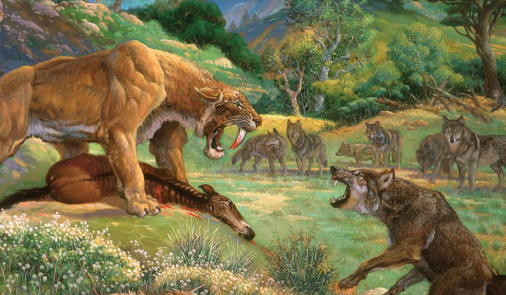 dire_wolf_and_sabre_tooth